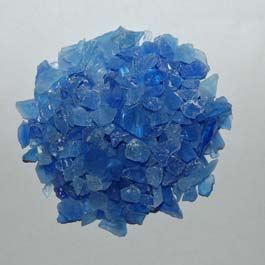 Recycled Glass - Crystal Blue
