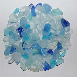 Recycled Glass - Caribbean Mix