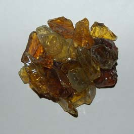 Recycled Glass - Crystal Amber
