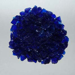 Recycled Glass - Dark Blue