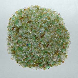 Recycled Glass - Earthtone