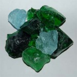 Recycled Glass - Forest Mix