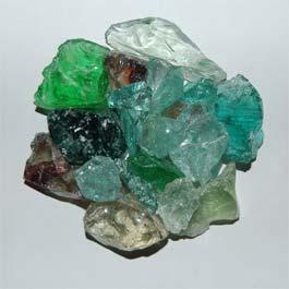 Recycled Glass - Jewel Mix