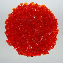 Recycled Glass - Orange