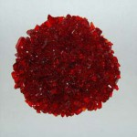 Recycled Glass - Red